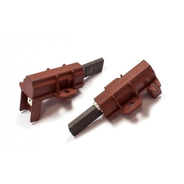 Washing Machine Motor Carbon Brushes Pair With Red Body