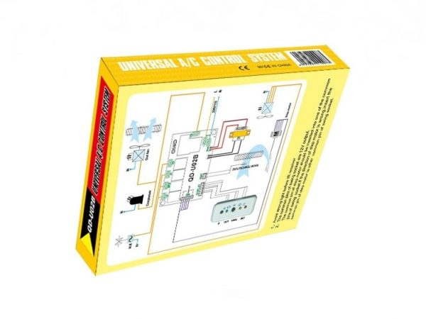 QD-U02B-Universal Air Conditioner PCB With Remote Control System