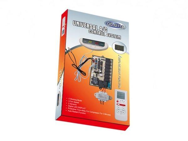 QD-U11A-Universal Air Conditioner PC Board With Remote Control System